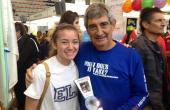 Diciembre, 2013. Media Maratón de Sevilla - Los Palacios, 2º clasificado Master 55 con 1.29.08 y Emily Simaseck alumna de IUS y West Chester University en su primera media maratón